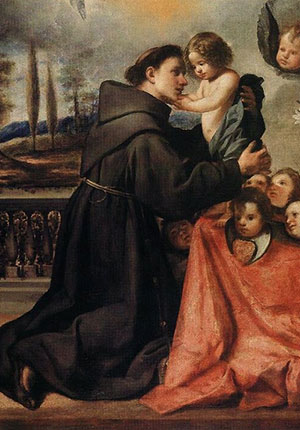 4-st anthony of padua with christ