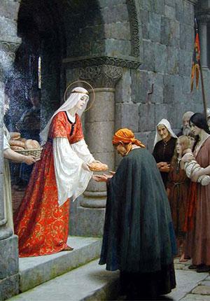 Sant Elisabetta dUngheria 5ok