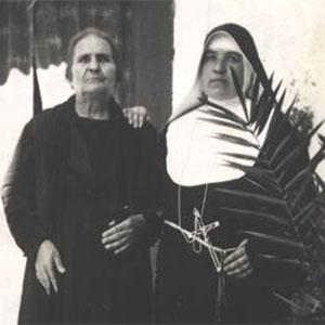 suor colomba blasiello con madre